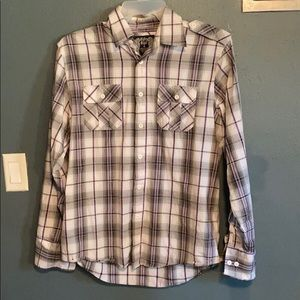 Gently used long sleeve button up